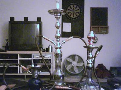 My 3 Hookahs