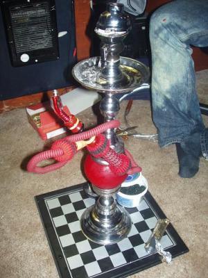 red rotator with cobra hose
