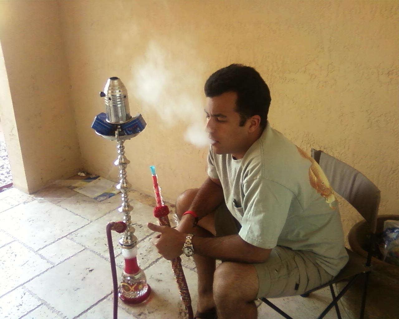 First KM smoke