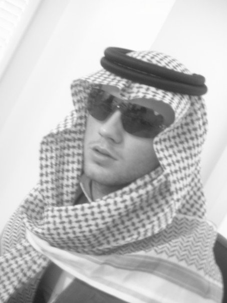 no I am not Saudi, or even Middle Eastern, for that matter.