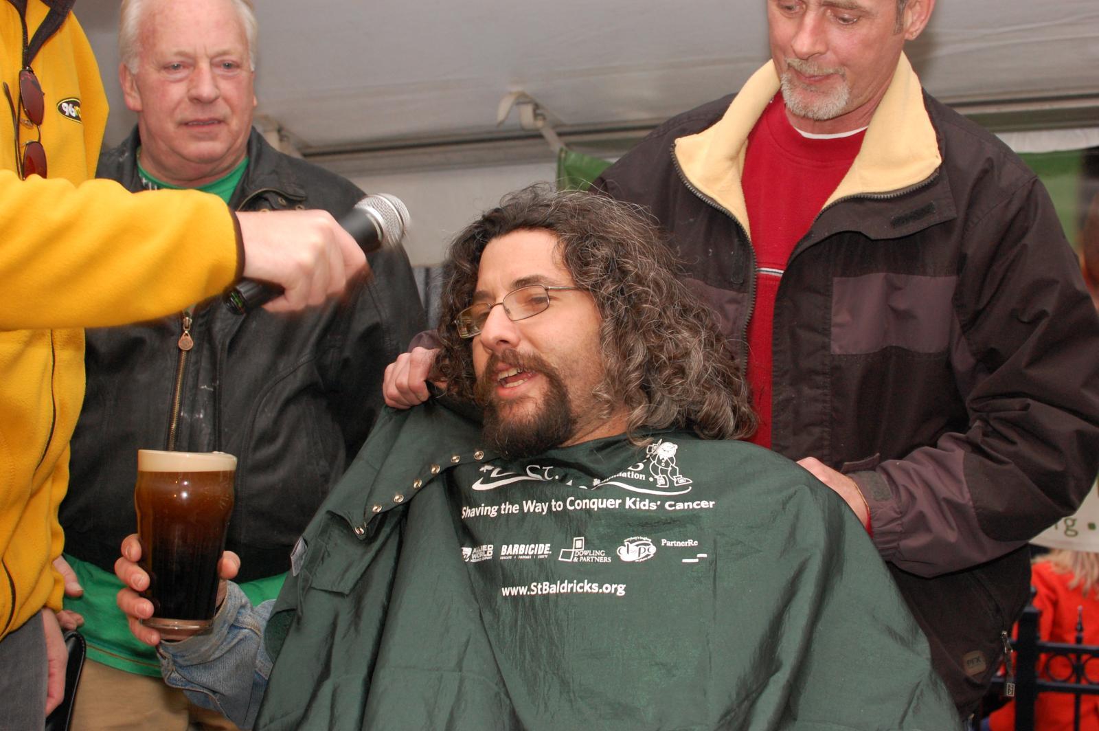 Mushrat Head Shave
