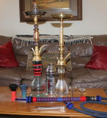 My Hookah Collection as of February 2011