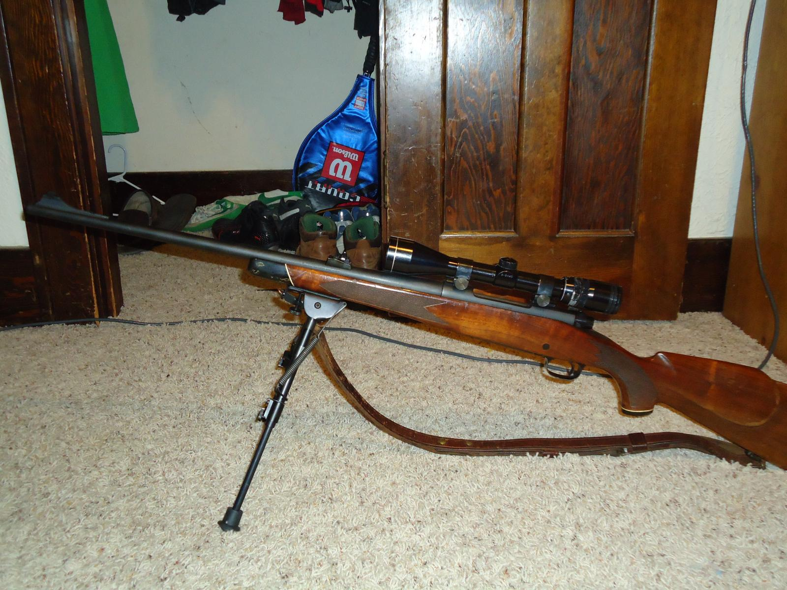 1972 Model 70 with Harris A-2 Bipod fully extended