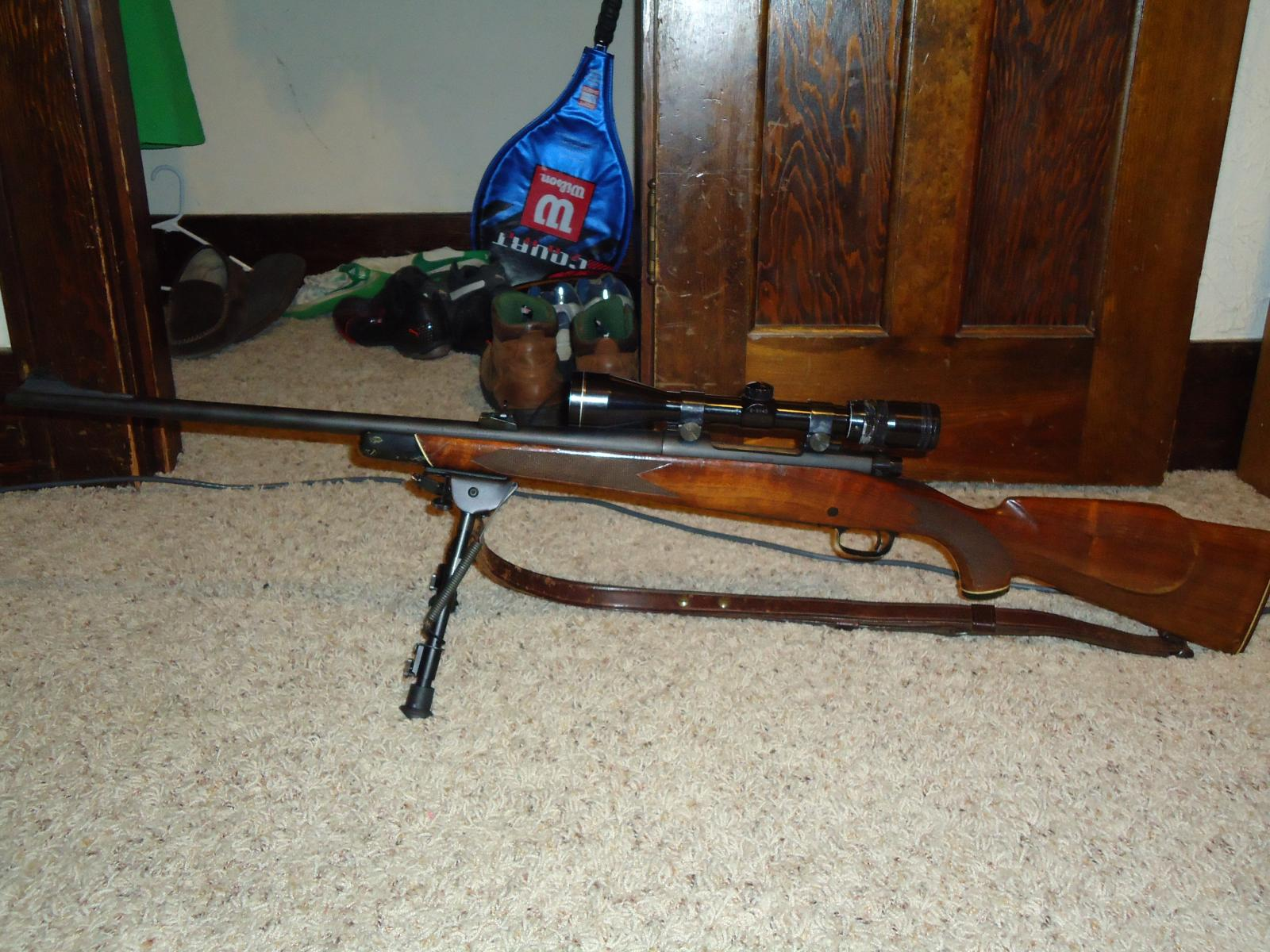 1972 Model 70 with Harris A-2 Bipod